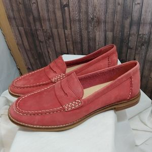 Sperry Red penny Loafers